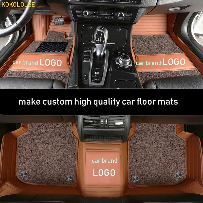 Kokololee tapis de sol de voiture pour MAZDA LOGO MAZDA 6 ATENZA 5 3 Axela CX-3 CX-5 CX-7 CX-9 CX-8 CX-4 MX-5 Intérieur Accessoires Tapis De Sol