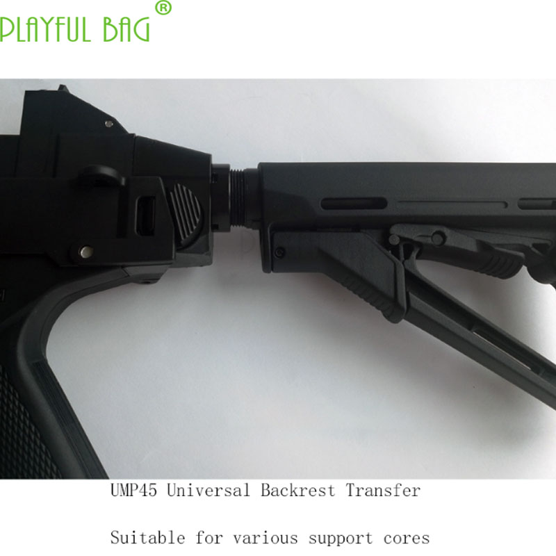 UMP45 Jinming 8/9 Upgrade Material Core Back Support Transfer Magazine Parallel Device Toy Water Bullet Gun Assembly KJ65