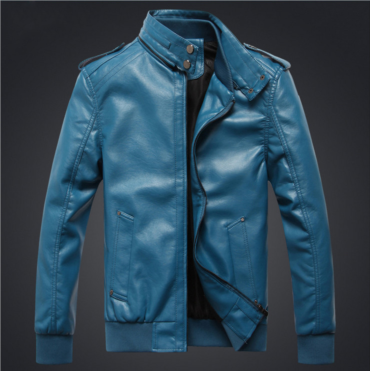 New Arrival Motorcycle Man Pu Leather Jacket Military Tactical Men Coats Jackets Solid Men 39 S