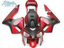 ABS פלסטיק הזרקת fairing ערכת fit עבור הונדה CBR600RR 03 04 CBR 600 RR 2003 2004 aftermarket fairing ערכות אדום שחור NY04