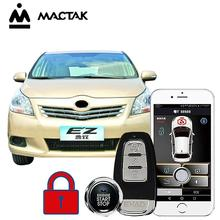 MACTAK EZ car accessories Keyless Entry Comfort System PKE Phone APP Remote Start Car Engine Car Alarm Push  963 все цены