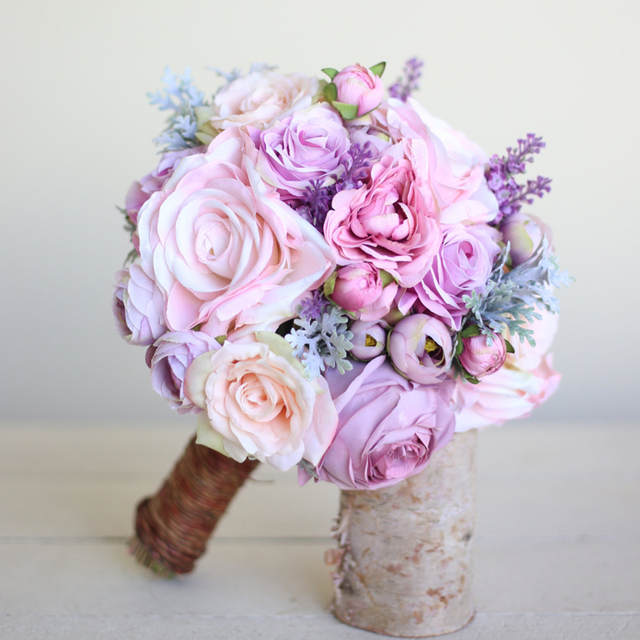 Bouquet Rose Sposa.Janevini Romantic Pink Wedding Bouquet Bridal Flowers Fiori Sposa