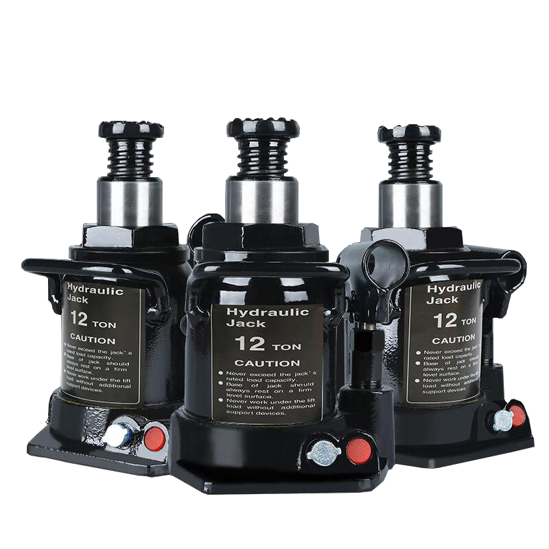 Free Shipping Oil Pressure 12T Hydraulic Jack European Standard Short Jack Vertical Jack