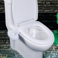 Bathroom Toilet Intelligent Bidet Spray Flushing Gun Flusher Seat Toilet Cabinet Cleaner Double Switch Bidet Sprayer