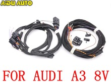 цена на For Audi A3 8V Side Assist Lane Change BlindSpot BSD System install update UPGRADE KIT Wire Cable Harness