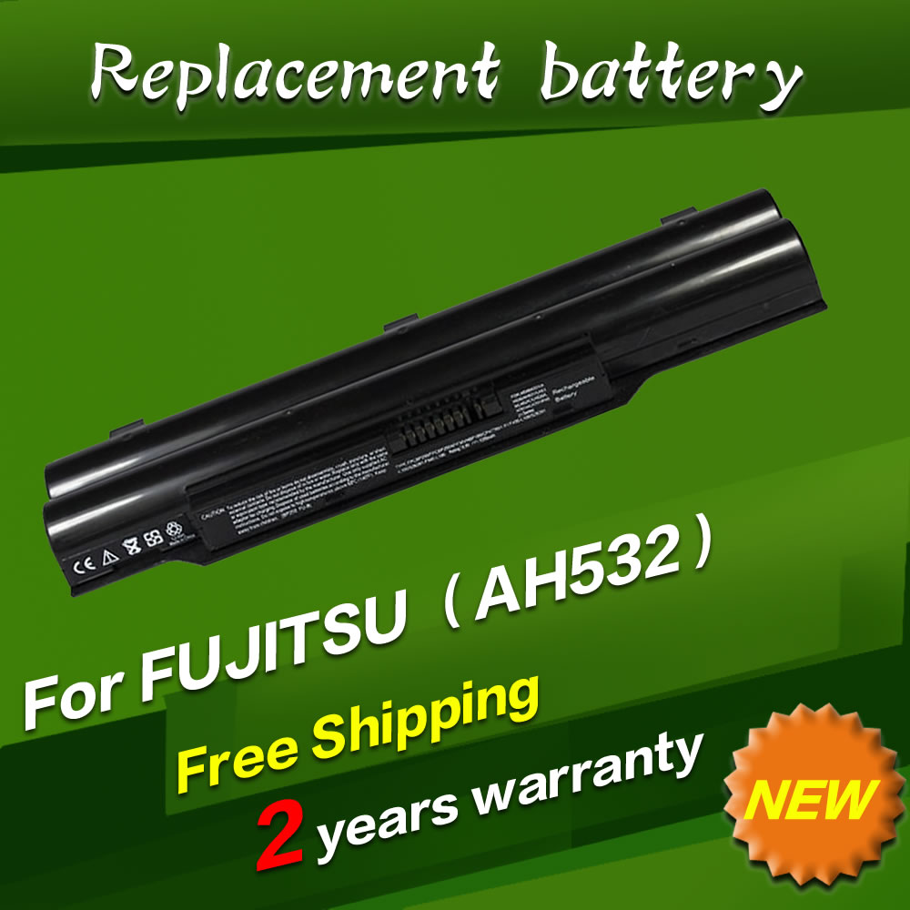 JIGU laptop battery CP567717 01 FMVNBP213 FPCBP331 FPCBP347AP For Fujitsu LifeBook A532 AH532 AH532 GFX