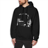 Truck DAF XF SCANIA Saab Hoodies For Man Popular sweatshirt Round Neck