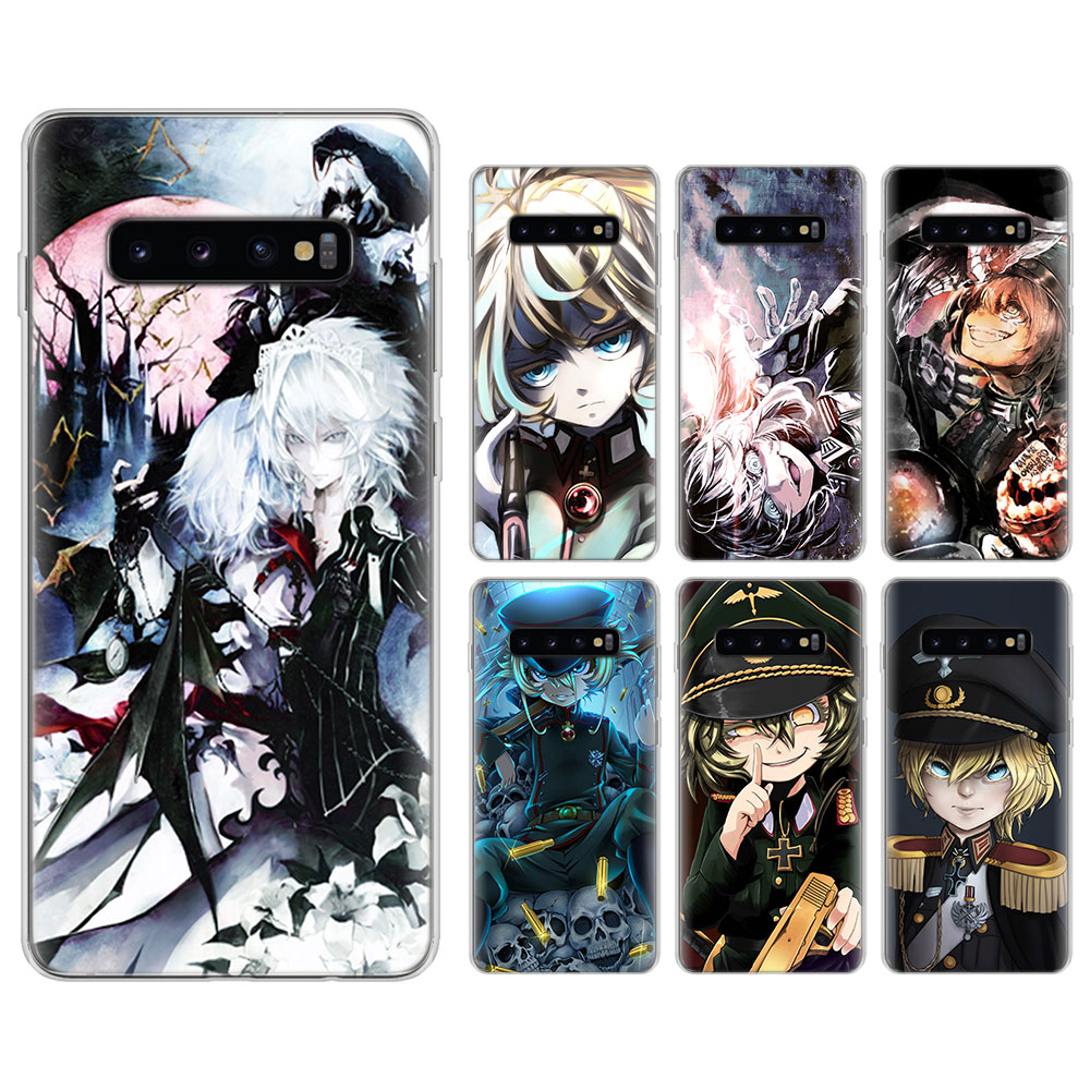 Anime GIRL <font><b>youjo</b></font> <font><b>senki</b></font> Silicone case for Samsung Galaxy S8 S9 S10 S10 Plus M10 M20 S6 S7 edge TPU Soft Phone cases cover image