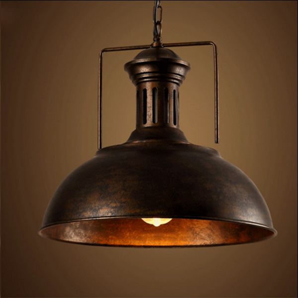 LOFT VINTAGE Edison Iron Personalized Bar Lighting Counter Lamps Vintage Pendant Lights Water Pipe Lamp LED E27 bulbs 110V-240V