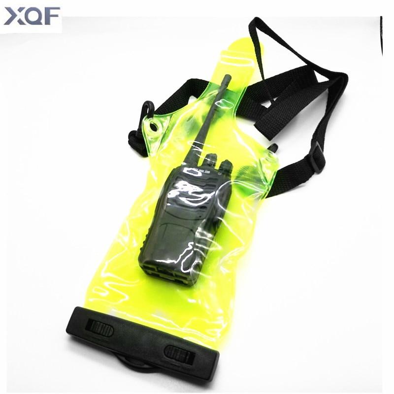 Waterproof Radio Bag Case For Kenwood Baofeng UV-5R Wouxun Quansheng Walkie Talkie Two Way Radio