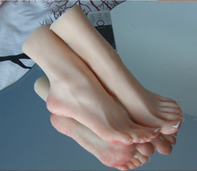 Free shipping newest girls ballerina dancer gymnast foot feet pointed toes fetish toys model feet