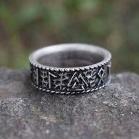 2018 New Viking Valknut Ring Mam Men Style Scandinavian Norse Jewelry Ancient Ring 12pcs/lots