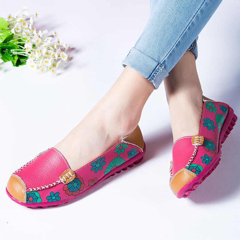 Echtes Leder Frauen Wohnungen Frühling Slipper Frauen Schuhe Ballerina Flache Neue Oxford Schuhe Für Frauen Schuhe Damen Schuhe Weibliche