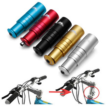 High Quality Aluminium Alloy Bike Bicycle Fork Stem Extender Handlebar Riser Head Up Adapter 2017 Brand New