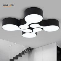 Hot Surface Mounted Modern Led Ceiling Lights For Kitchen Kids Bedroom Home Modern Led Ceiling Lamp