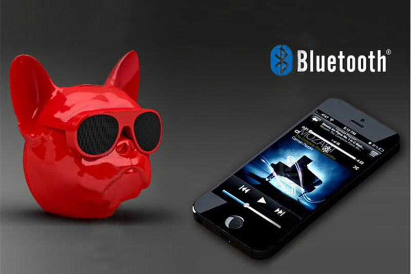 bull dog Nano Wireless Speaker Bulldog Bluetooth Speaker Outdoor Portable HIFI Bass Speaker Multipurpose Touch Control (14)