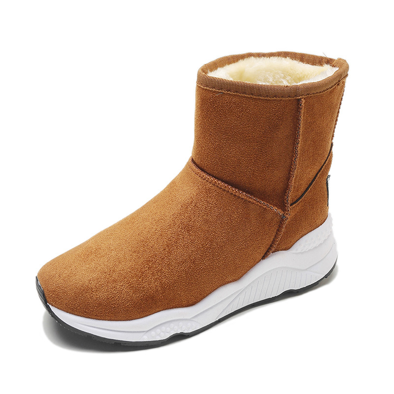 Winter Snow Boots Women Casual Shoes Slip On Warm Plush Women Ankle Boots Flat Heel Sport Ladies Shoes Booties Botas Mujer XZ82 (24)
