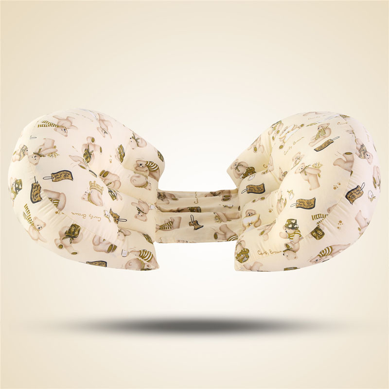 Многофункциональные u-образные подушки для беременных женщин поддержка живота боковые шпалы Мягкая Подушка для беременных хлопок - Цвет: 3