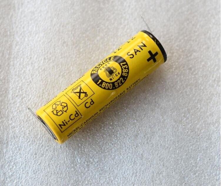 W805 1 pièce Ni-cd 600 mAh rechargeable batterie pour Philips rasoir électrique HQ386.HQ360. HQ586.HQ46 HQ662