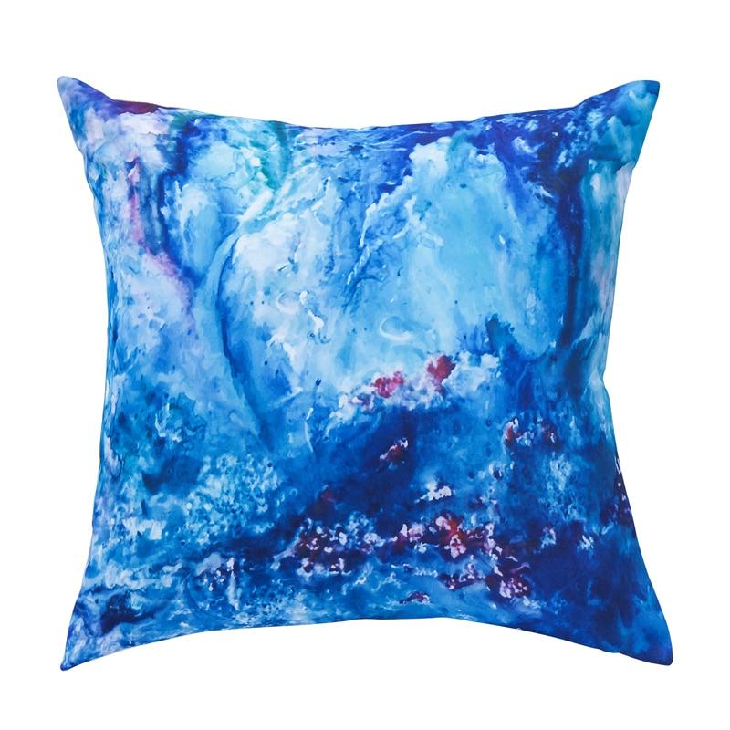Modern Pillow Cover Design : Modern Design High Quality Outdoor Cushion Blue Chair Set pad Creative Cushion Home Decor Pillow ...