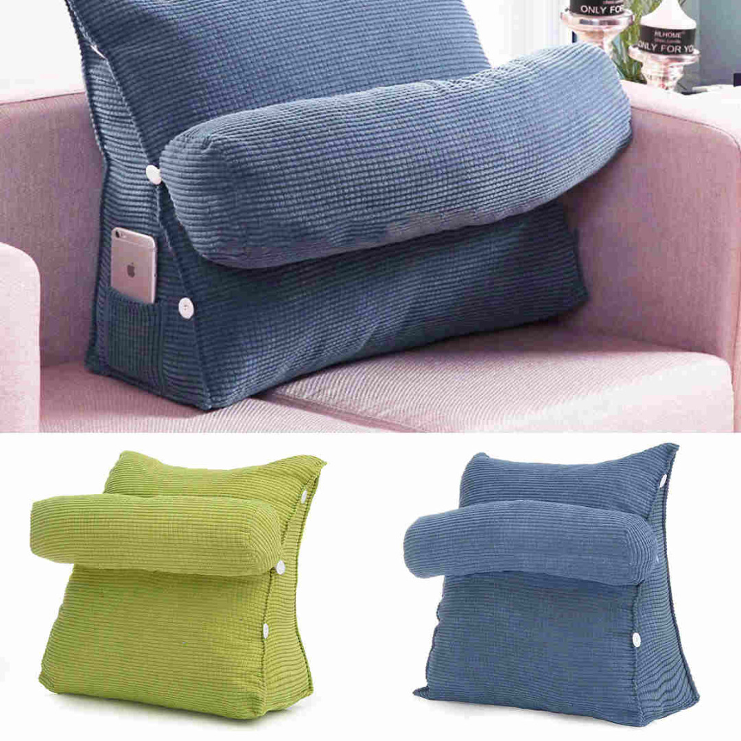 Bed pillow chair - Mayitr Adjustable Office Rest Neck Waist Support Sofa Bed Pillow Chair Rest Back Wedge Cushion Pillow