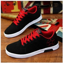 Free Shipping 2018 Fall New Men's Brand Vulcanized Shoes, Rubber Bottoms Men's Canvas Shoes, Breathable Comfortable Men's Shoes