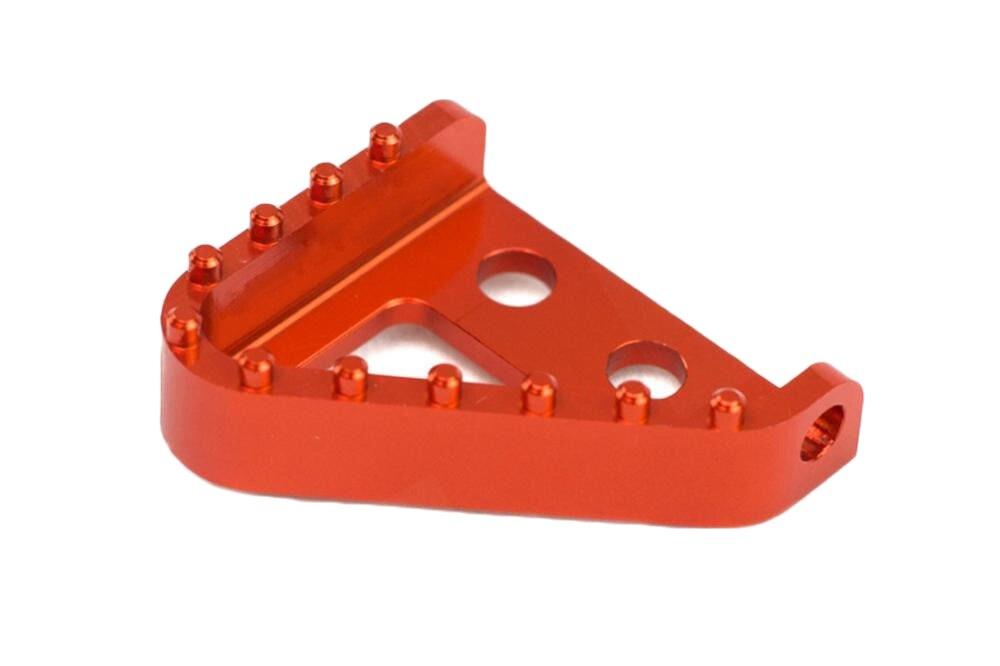 Brake Pedal Step Plate Tip KTM 125-530 04-10 690 950 990 Part 54813951100 Orange