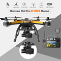 2016 hubsan x4 pro h109s drone fpv 5.8g 1080 p hd con $ number ejes cámara gimbal fpv helicóptero aviones no tripulados