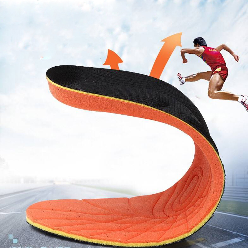 1pair/lot Stretch Breathable Deodorant Shoe Running Cushion Insoles Pad Insert