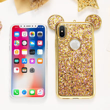 KISSCASE B Ling P AillettesกรณีสำหรับiPhone X 10สิบกรณีน่ารักหรูหราg litter(China)