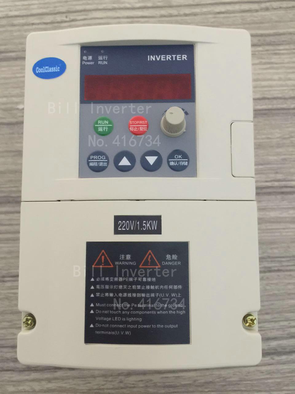 VFD Inverter ZW S2 2T 1 5KW 2 2KW Single phase 110V 220V Input and For