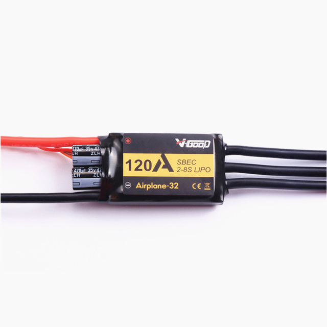 V Good Airplanes 32 ESC 40A 60A 80A 100A 120A 150A 2 8S Lipo 5.5V/8A BEC RC Airplane ESC For RC Model RC accessories
