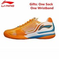 Li Ning Men S Tennis Shoes Cushioning Breathable Stability Professional Sneakers Sports Shoes Li Ning ATAJ005