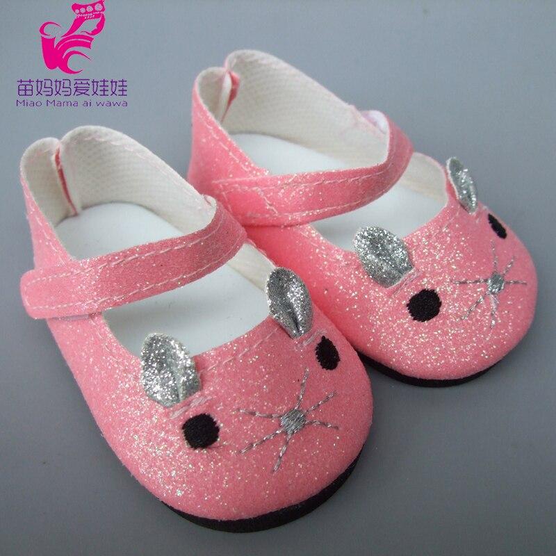 Us 266 20 Offspielzeug Geschenk 18 Zoll 45 Cm Mädchen Puppe 7 Cm Puppe Schuhe Mini Leder Schuhe Für 43 Cm Baby Puppen In Puppen Zubehör Aus
