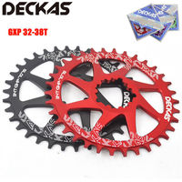 DECKAS GXP Road Bicycle Chainwheel 32/34/36/38T MTB Chainring Round/Oval Chain Ring Mountain Bike SRAM GXP XX1 XO1 X1 GX XO X9