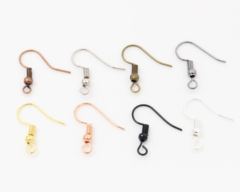 100pcs/lot 20x17mm DIY Earring Findings Earrings Clasps Hooks Fittings DIY Jewelry Making Accessories Iron Hook Earwire Jewelry100pcs/lot 20x17mm DIY Earring Findings Earrings Clasps Hooks Fittings DIY Jewelry Making Accessories Iron Hook Earwire Jewelry