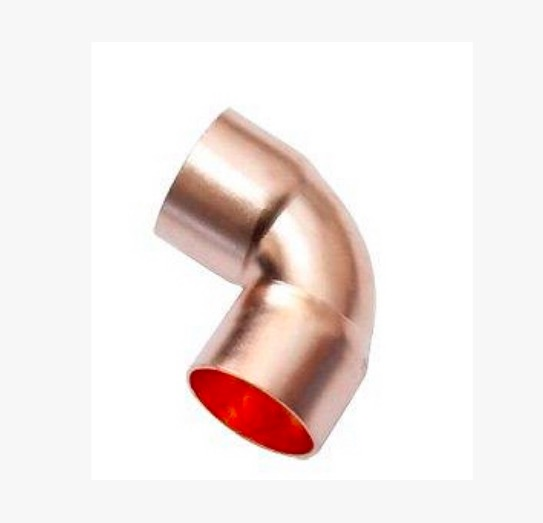 5Pieces/Lot Inner D:<font><b>32mm</b></font> Thickness:1.5mm <font><b>Copper</b></font> Welding Elbow <font><b>Pipe</b></font> 90 Degree L Type Expansion Elbow image