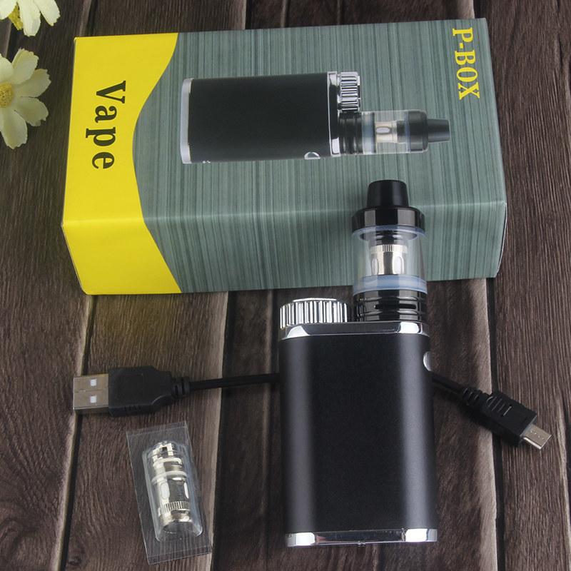 Kingfish smok mod P-BOX Electronic Cigarette mod kits 18650 battery box for RDA RTA RDTA vape Tank Vaporizer atomizador 50pcs