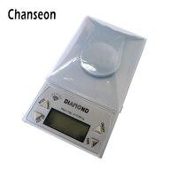 Chanseon Scale LCD Kỹ Thuật Số 0.001 gam 50 gam Phòng Thí Nghiệm Điện Tử Balance Vàng Bijoux Kim Cương Y Tế Chính Xác Jewelry Scale