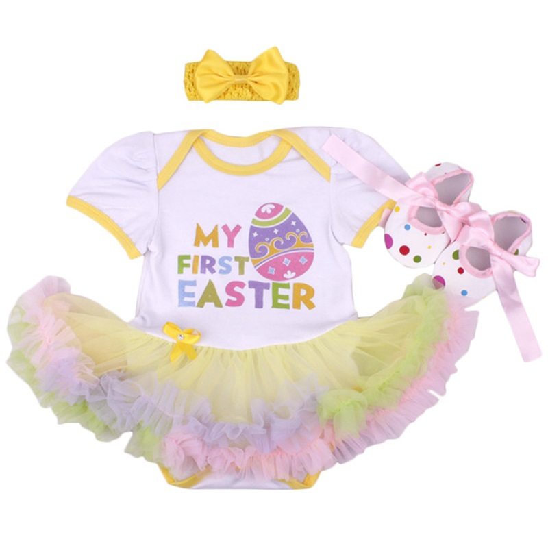 91d6bda2b New Baby Dress for Girls Tutu Skirt Clothes Sets Bebe First Birthday ...