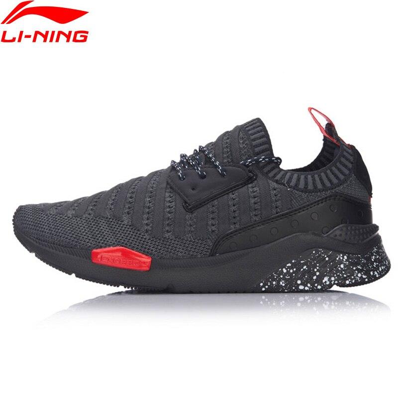 (Soldes) li-ning hommes Sport vie chaussures de marche doublure légère chaussures de Sport loisirs respirant baskets GLKM065 YXB084