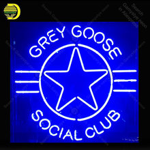 NEON SIGN For Goose Social Club Lamp display Real GLASS Tube Decorate hotel Handcraft Advertise custom neon light public(China)
