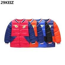 AOSTA BETTY Winter Full Sleeve Boys Jackets Patchwork Cotton Padded Kids Snow Wear & Parka Children Baby Boy Outerwear & Coat
