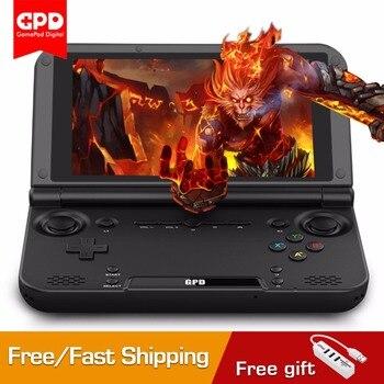 GPD XD Plus 5,0 pulgadas Tablet PC handheld consolas de juegos 4G/32G Hexa core H-IPS Linux consola de videojuegos 2,1 GHz Bluetooth WiFi