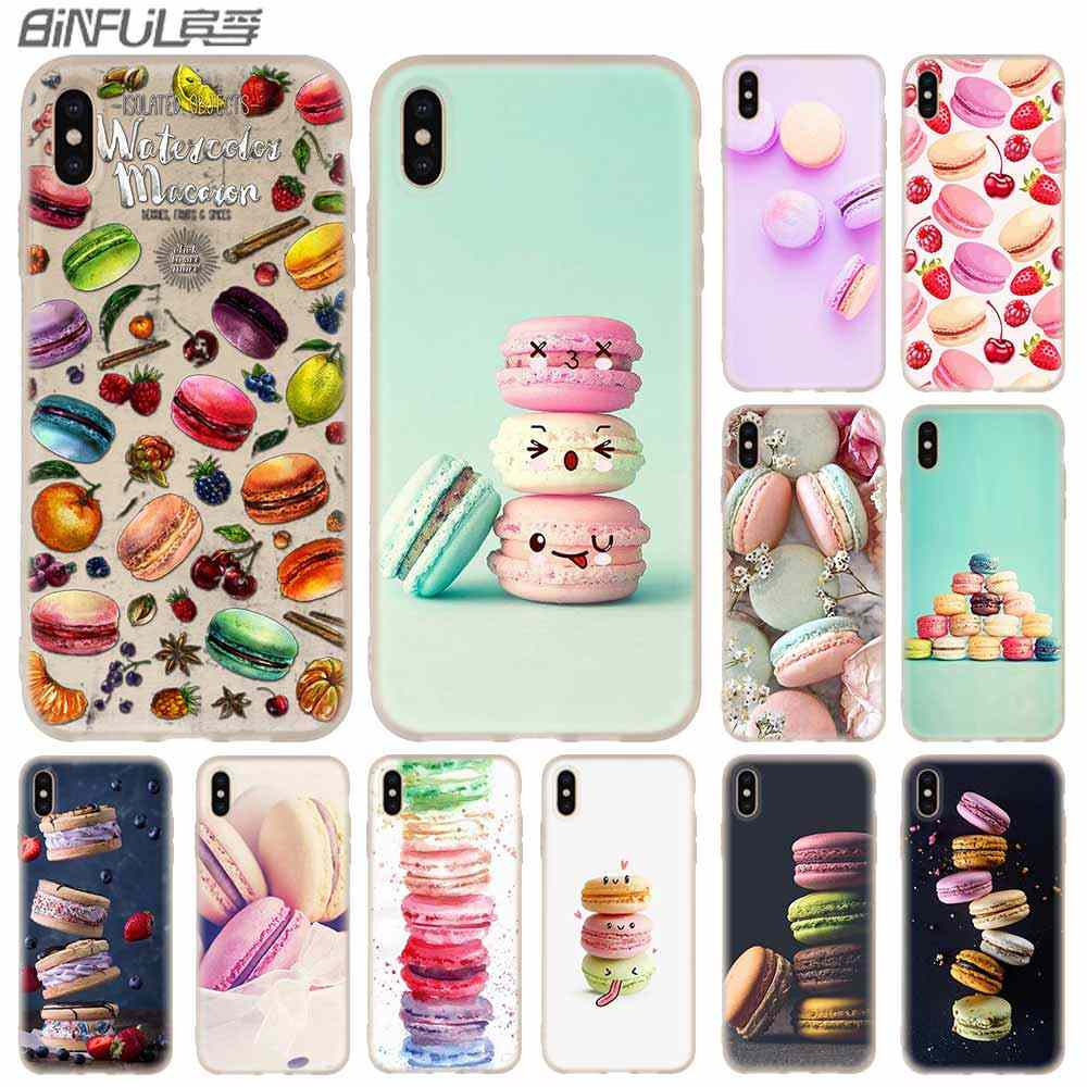 Case Silicone Soft Phone Cover iPhone X