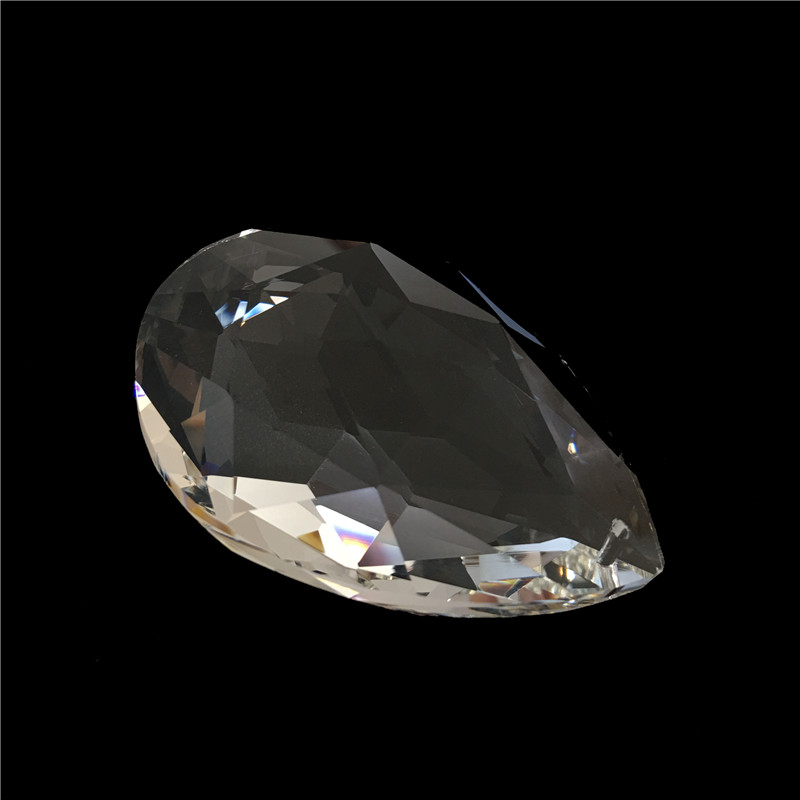 10pcs / lot 63mm Pandantive de cristal de cristal / pandantive - Produse pentru sărbători și petreceri