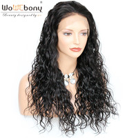 WoWEbony 360 Lace Frontal Wigs Indian Remy Hair Milan Wave Best Hair Buy Human Hair Lace Wigs Pre plucked Hairline [NW360]