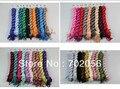 Color liso de algodón Ladies bufandas bufanda color sólido ponchos chales bufandas del abrigo 30 colores 22 unids/lote #1747