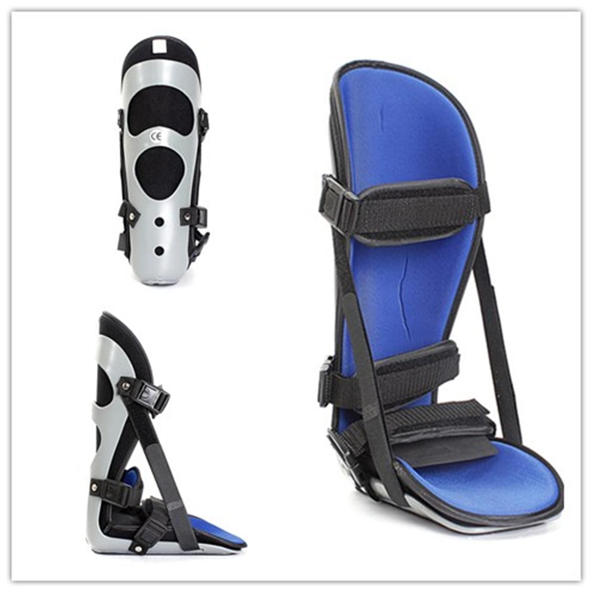 Aptidão Tornozelo Suporta Plantar Splint Fit Ajustável Estabilizador brace Guarda Legging esporte apoio protetor Tornozelo Cintas