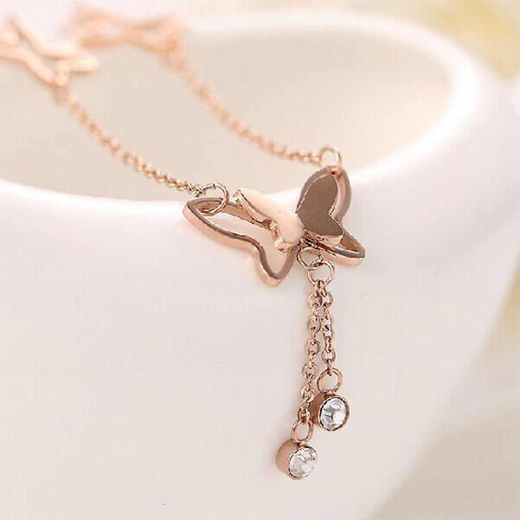 Promocja nowy urok obrączki dla kobiet kostki bransoletka łańcuch stóp biżuteria wysokiej jakości